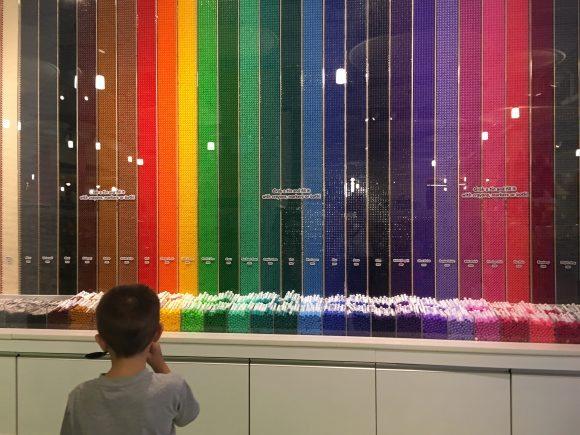 Crayola Experience Wall of Crayons