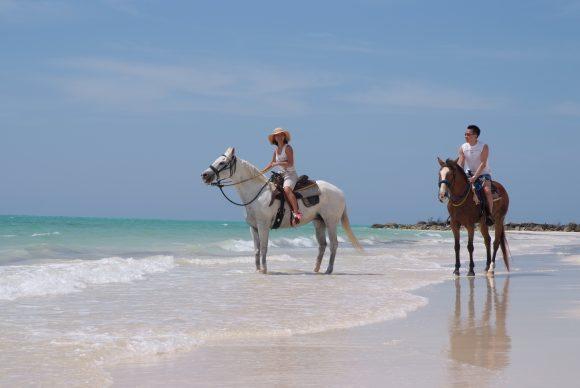 Bahamas family vacation horseback riding