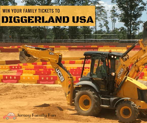 Win Diggerland USA tickets Diggerland USA ticket giveaway