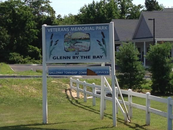 Veteran's Memorial Park in Galloway Atlantic County New Jersey