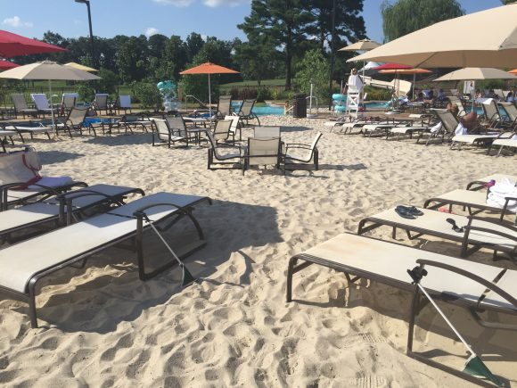 Kingsmill Resort Beach Area