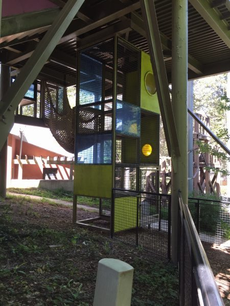 Philadelphia Zoo play area