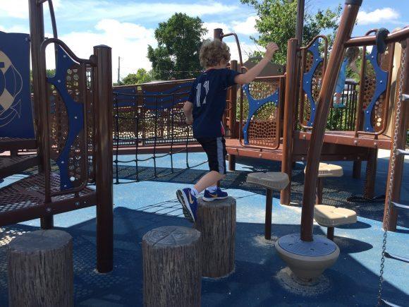 Dorchester Visitor Center playground 1