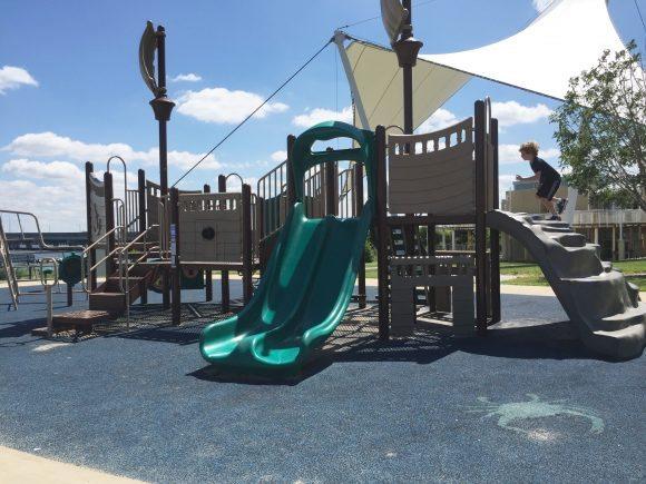 Dorchester Visitor Center playground