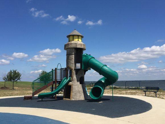 Dorchester Visitor Center playground lighthouse 1