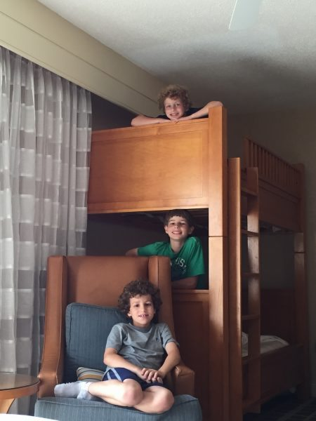 Hyatt Regency Chesapeake Bay Resort bunk beds