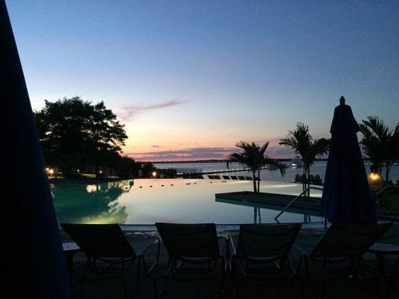 Hyatt Regency Chesapeake Bay sunset