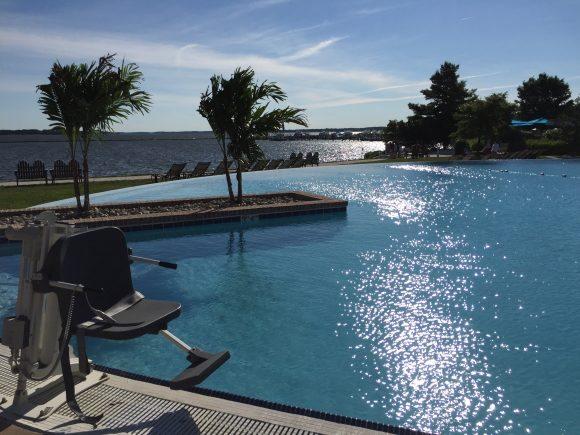 Hyatt Regency Chesapeake Bay Resort Infinity pool