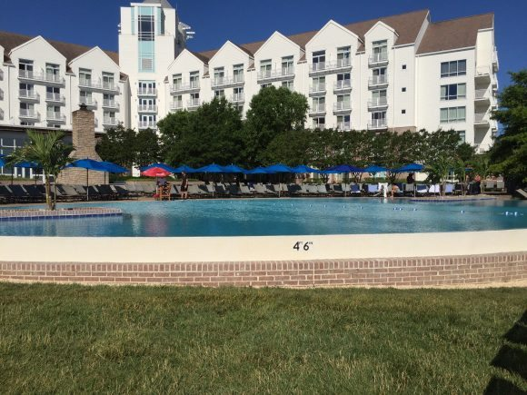 Hyatt Regency Chesapeake Bay Resort view