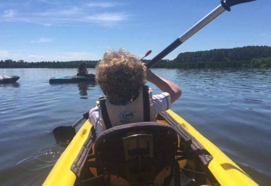 Blackwater Paddle & Pedal Adventures kayak