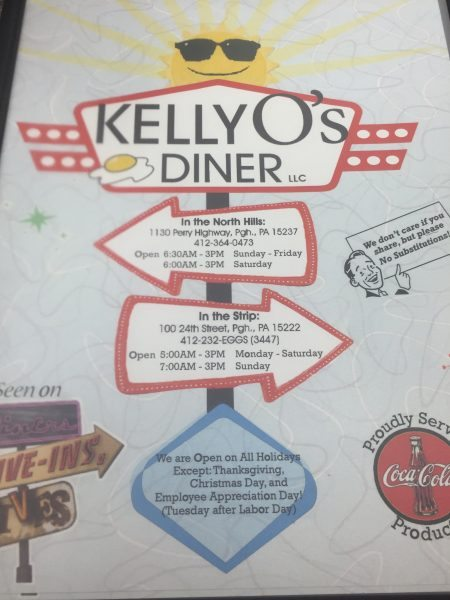Kelly O's Diner, Pittsburgh