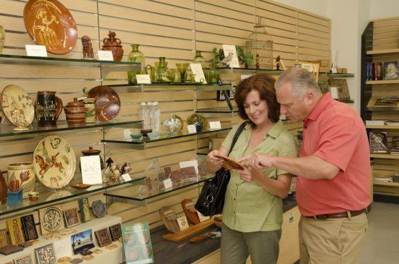 Mercer Museum gift shop 2 Visit Philly Bob Krist