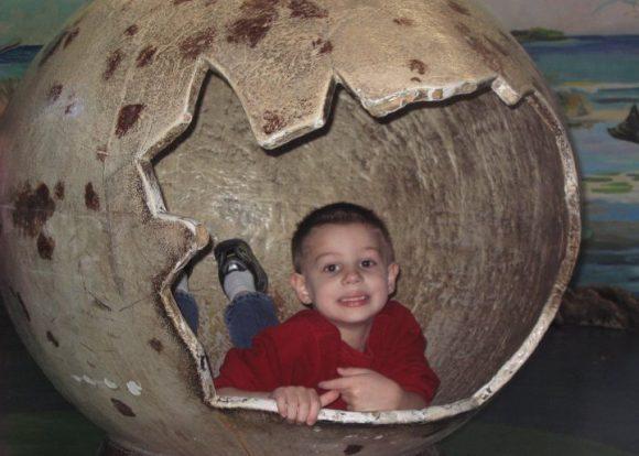Philadelphia Zoo dinosaur egg