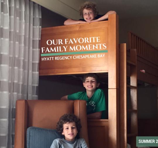 favorite family moments Hyatt Regency Chesapeake Bay Resort