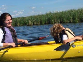 kayaking sleeping 2