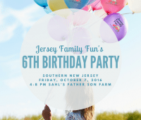 Jersey Family Fun's 6th Birthday Party