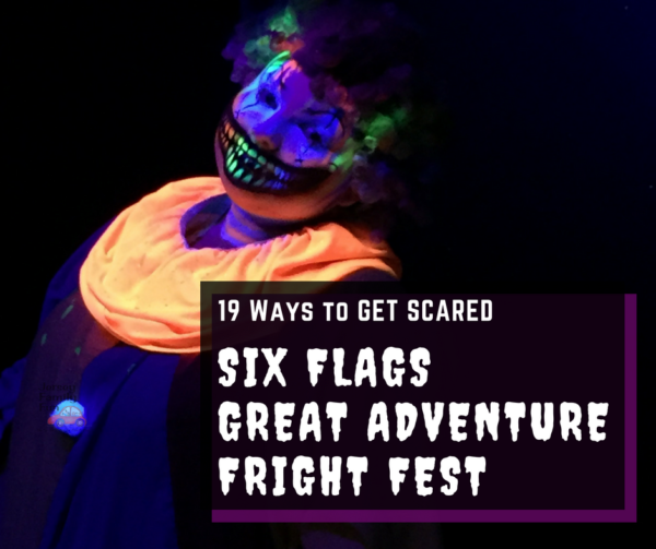 GET SCARED at Six Flags Great Adventure Fright Fest ~ Jersey