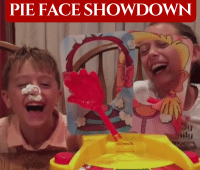 Hasbro's Pie Face Showdown