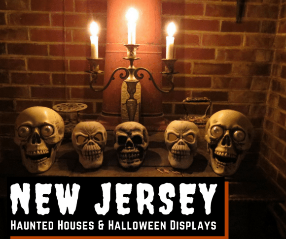 New Jersey Haunted Houses & Halloween Displays