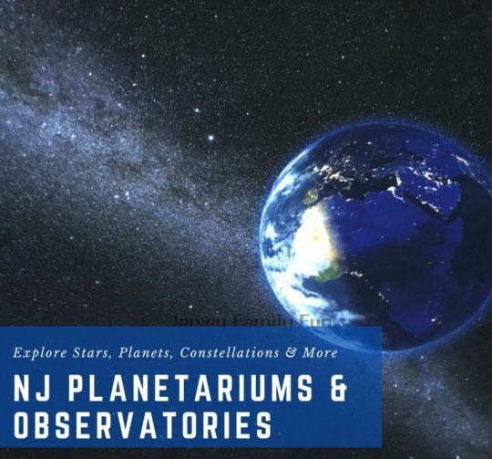 New Jersey Planetariums and Observatories in North Jersey, South Jersey, and Central Jersey