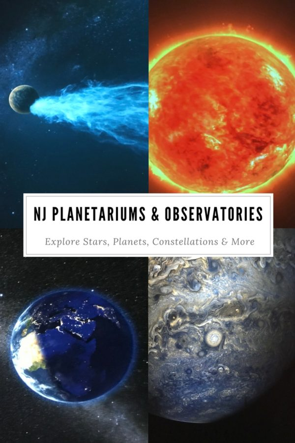 New Jersey Planetariums & Observatories in South Jersey, North Jersey and Central Jerseu