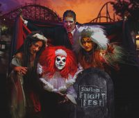 Six Flags Great Adventure Fright Fest clowns