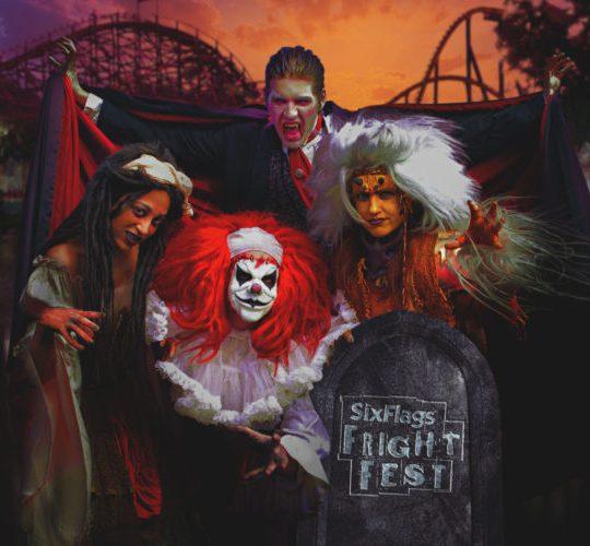 Six Flags Great Adventure Halloween evening activities