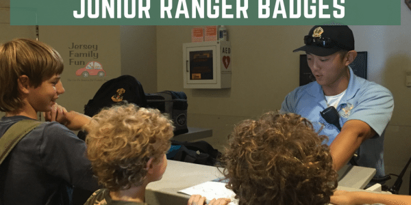 Washington DC National Mall Junior Ranger Badges