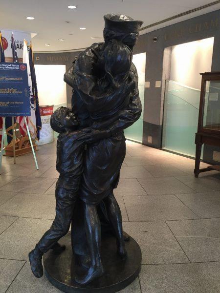 United States Navy Memorial family vacation to Washington DC
