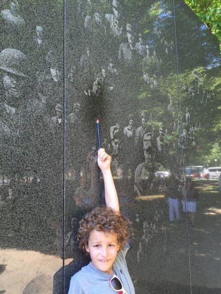 Washington DC National Mall Junior Ranger Badges Korean War Veterans Memorial