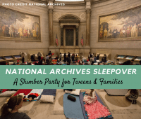 National Archives Sleepover