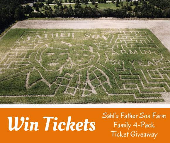 Sahls Father Son Farm Ticket Giveaway