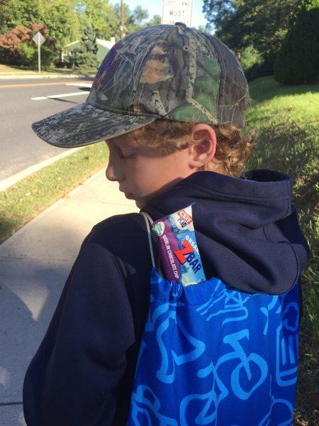 CLIF Kid Zbars family walks