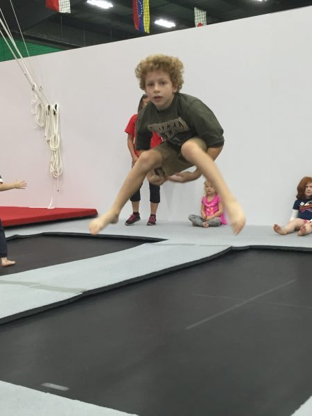 Schafer Sports Center trampoline