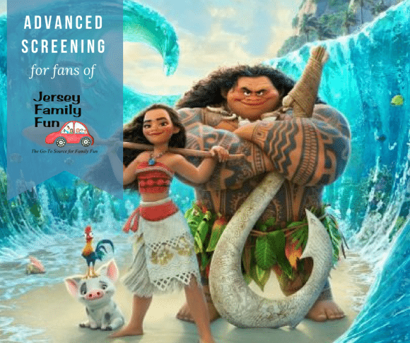 Advanced Screening of Moana