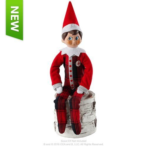 Elf on the Shelf outfits Elf on the Shelf Claus Couture Fa-La-La Footies Pajamas Set