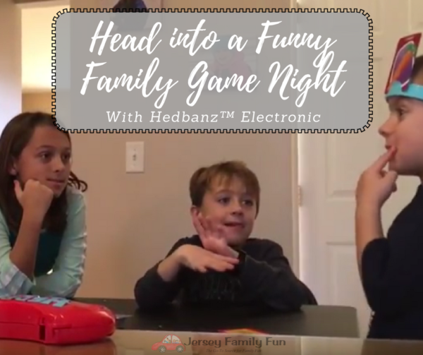 Head Into A Funny Family Game Night With Hedbanz Electronic