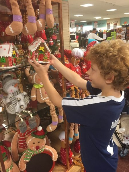 Boscov's Holiday Decor Gingerbread House