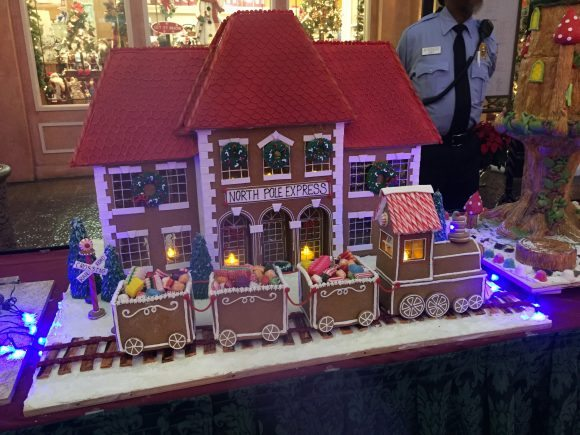 Tropicana Casino AC Gingerbread House