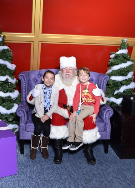 Santa's Flight Academy, The Mall at Short Hills Santa photo