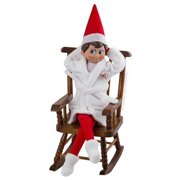 Elf on the shelf outfits The Elf on the Shelf Claus Couture Relaxing Robe and Slippers