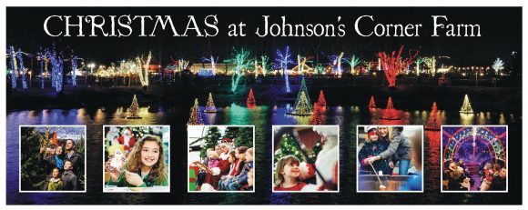 Johnson farm offers a Holiday Displays & Lights in New Jersey