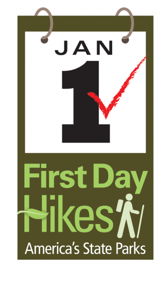 National park service logo for First Day Hikes