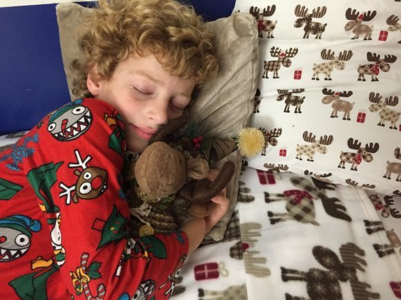 keeping kids healthy during the holidays, bedtime, holidays, mja