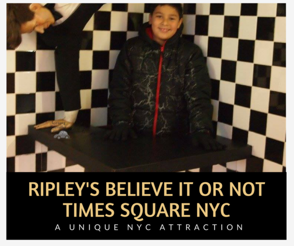 Ripley's Believe it or not times square nyc A Unique NYC Attraction