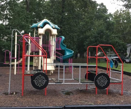 First Street Playground in Northfield, New Jersey., part of Atlantic County Parks & Playgrounds