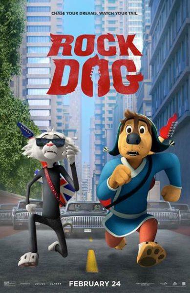 ROCK DOG Movie poster