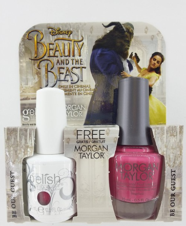 Morgan Taylor Nail Lacquer's collection of Beauty and the Beast nail polish