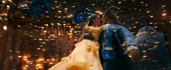 Beauty and the Beast ballroom waltz scene
