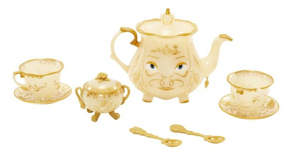 Beauty and the Beast Enchanted Tea Set Playset